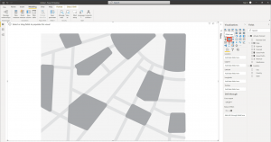 How to create a map chart in Power BI - Step 1